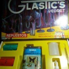 Juegos educativos: JUEGO * GLASTI'CS PEDRET ( REPUESTOS ) ( LEER DESCRIPCIÓN). Lote 148074502