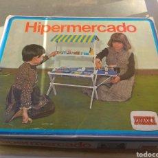 Juegos educativos: CAJA VACÍA HIPERMERCADO EUREKA. Lote 148467416
