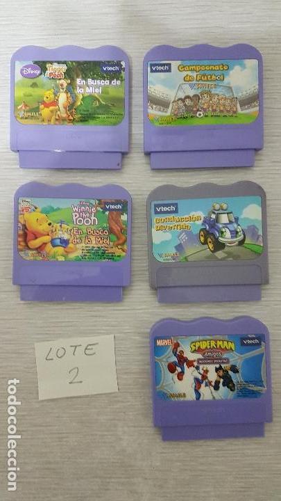 JUEGOS VTECH - LOTE 2 (Juguetes - Juegos - Educativos)