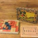 Juegos educativos: ANTIGUO JUEGO DE CONSTRUCCIÓN CON SU CAJA ORIGINAL. Lote 149054896