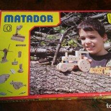 Jogos educativos: JUEGO DE CONSTRUCCION DE MADERA MARCA AUSTRIACA MATADOR Nº 0 CON INSTRUCCIONES. Lote 180396971