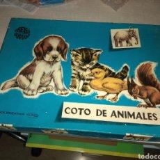 Juegos educativos: ANTIGUO JUEGO COTO DE ANIMALES - NUEVO SIN USO - JUEGOS EDUCATIVOS GOULA -. Lote 149642790