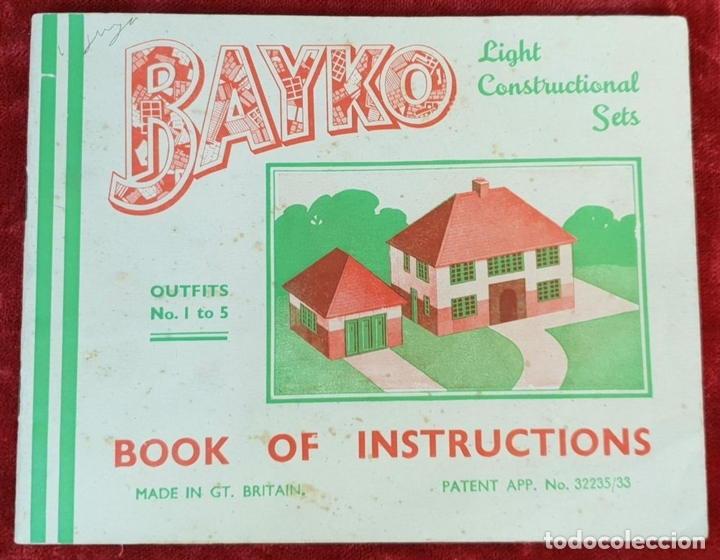 Juegos educativos: BAYKO. JUEGO DE CONSTRUCCIÓN. INGLATERRA. ESCALA 1:43. CIRCA 1930. - Foto 7 - 149801146