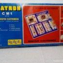 Juegos educativos: SCATRON C M 1 - JUEGO DE MONTAJES ELECTRÓNICOS -19 CIRCUITOS- FABRICADO POR SCALA REF. 232 (RARO). Lote 149847854