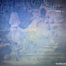 Juegos educativos: JUEGO DE ESTEREOMETRIA DE 1890-1900. Lote 150626990