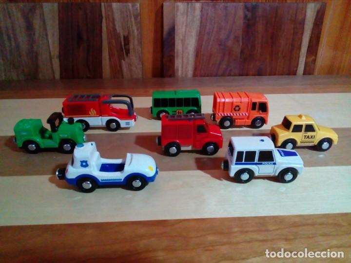 Juegos educativos: COCHES MAGNETICOS EDUCATIVOS DELTA SPORT PARA PISTA DE MADERA - Foto 2 - 150719950