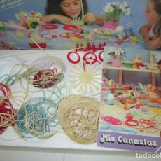 Juegos educativos: MIS CANASTAS. TRABAJITOS FEBER.. Lote 150974326