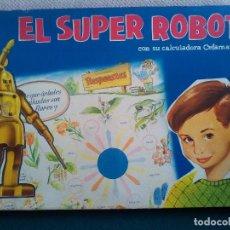 Juegos educativos: EL SUPER ROBOT - AÑOS 60, DE CEFA. Lote 151889670