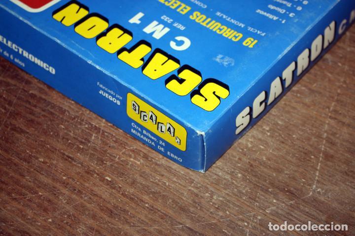 Juegos educativos: SCATRON CM 1 - FABRICADO POR SCALA - JUEGO DE MONTAJES ELECTRONICOS - 19 CIRCUITOS - NUEVO - Foto 8 - 152244006