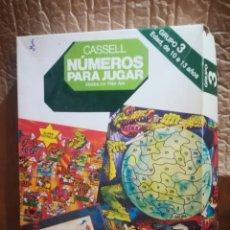 Juegos educativos: CASELL NUMEROS PARA JUGAR NIVEL 3. Lote 152293717