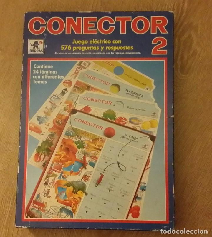 ANTIGUO JUEGO CONECTOR 2 DE 312 PREGUNTAS Y RESPUESTAS AÑOS 70. COMO NUEVO. (Juguetes - Juegos - Educativos)