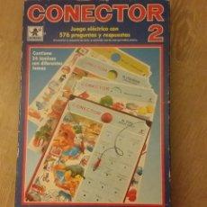 Juegos educativos: ANTIGUO JUEGO CONECTOR 2 DE 312 PREGUNTAS Y RESPUESTAS AÑOS 70. COMO NUEVO.. Lote 152900270
