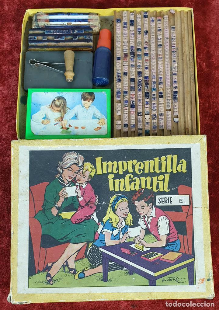 IMPRENTILLA INFANTIL. SÉRIE E. JUEGO EDUCATIVO. CIRCA 1930. (Juguetes - Juegos - Educativos)