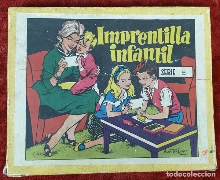 Juegos educativos: IMPRENTILLA INFANTIL. SÉRIE E. JUEGO EDUCATIVO. CIRCA 1930. - Foto 4 - 153052778
