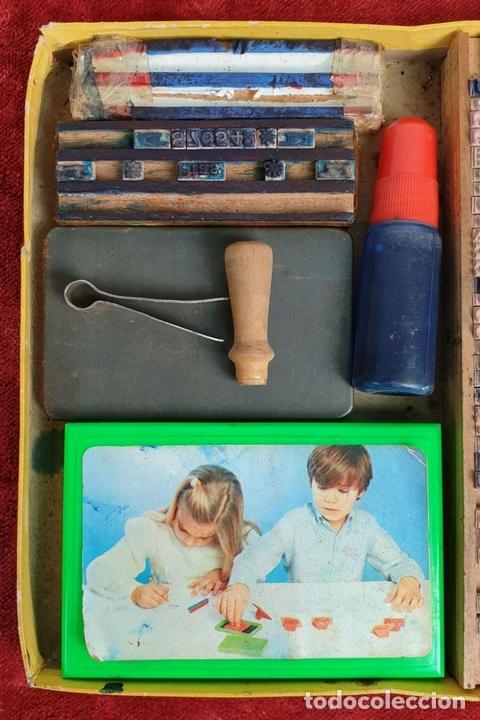 Juegos educativos: IMPRENTILLA INFANTIL. SÉRIE E. JUEGO EDUCATIVO. CIRCA 1930. - Foto 5 - 153052778