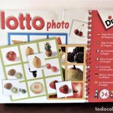 Juegos educativos: LOTTO PHOTO DE DISET. Lote 154407174