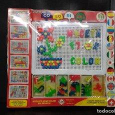 Juegos educativos: COLORINES PIQUÉ MOSAICO MULTICOLOR EN RELIEVE CON LETRAS. Lote 154458534