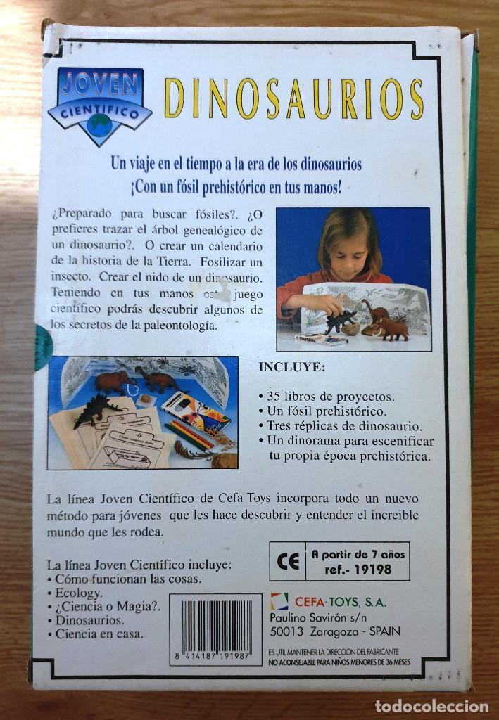 Juegos educativos: CEFA TOYS. LINEA JOVEN CIENTIFICO. DINOSAURIOS. NUEVO EN EMBALAJE ORIGINAL - Foto 2 - 155025922