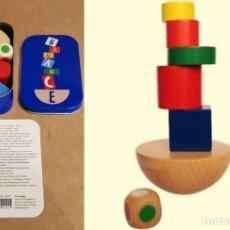 Juegos educativos: BALANCE / JUEGO DE INGENIO Y EQUILIBRIO EN MADERA / EN SU CAJA ORIGINAL / INSTRUCCIONES.. Lote 155243906