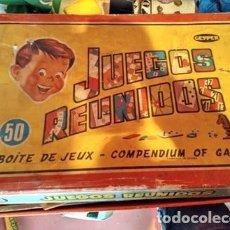 Juegos educativos: JUEGOS REUNIDOS GEYPER. Lote 155429042