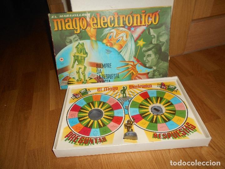 JUEGO CEFA MAGO ELECTRÓNICO AÑOS 60 (Juguetes - Juegos - Educativos)