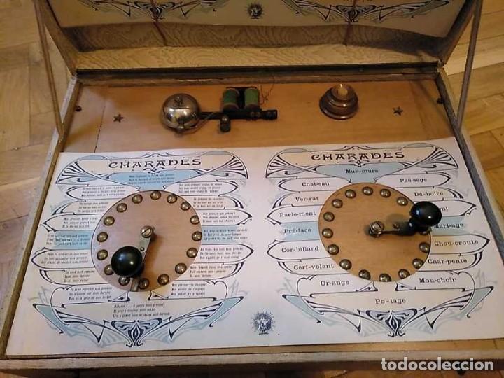 Juegos educativos: JUEGO ELECTRICO STUDIO QUESTIONNAIRE ELECTRIQUE FABRICACION FRANCESA PRINCIPIOS PASADO SIGLO JUGUETE - Foto 3 - 155936514