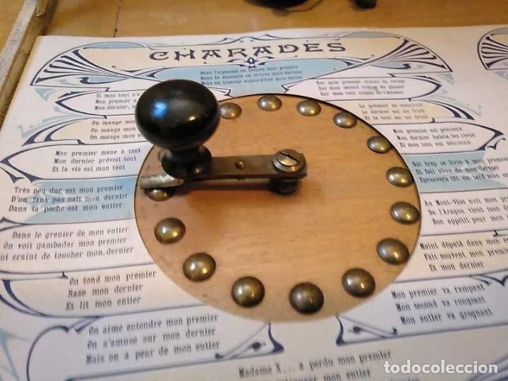 Juegos educativos: JUEGO ELECTRICO STUDIO QUESTIONNAIRE ELECTRIQUE FABRICACION FRANCESA PRINCIPIOS PASADO SIGLO JUGUETE - Foto 5 - 155936514