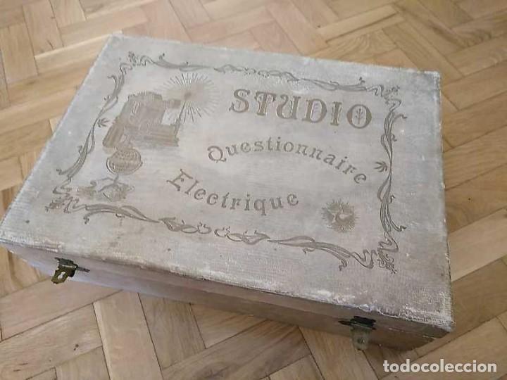 Juegos educativos: JUEGO ELECTRICO STUDIO QUESTIONNAIRE ELECTRIQUE FABRICACION FRANCESA PRINCIPIOS PASADO SIGLO JUGUETE - Foto 31 - 155936514