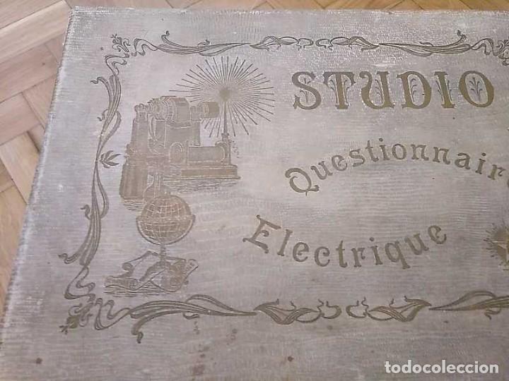 Juegos educativos: JUEGO ELECTRICO STUDIO QUESTIONNAIRE ELECTRIQUE FABRICACION FRANCESA PRINCIPIOS PASADO SIGLO JUGUETE - Foto 33 - 155936514