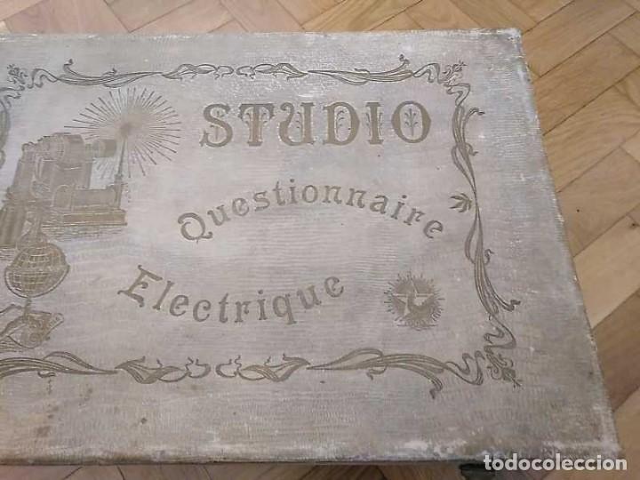 Juegos educativos: JUEGO ELECTRICO STUDIO QUESTIONNAIRE ELECTRIQUE FABRICACION FRANCESA PRINCIPIOS PASADO SIGLO JUGUETE - Foto 34 - 155936514