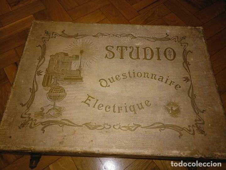 Juegos educativos: JUEGO ELECTRICO STUDIO QUESTIONNAIRE ELECTRIQUE FABRICACION FRANCESA PRINCIPIOS PASADO SIGLO JUGUETE - Foto 35 - 155936514