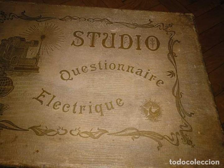 Juegos educativos: JUEGO ELECTRICO STUDIO QUESTIONNAIRE ELECTRIQUE FABRICACION FRANCESA PRINCIPIOS PASADO SIGLO JUGUETE - Foto 37 - 155936514