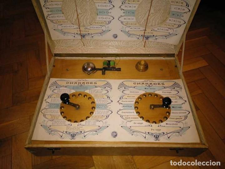 Juegos educativos: JUEGO ELECTRICO STUDIO QUESTIONNAIRE ELECTRIQUE FABRICACION FRANCESA PRINCIPIOS PASADO SIGLO JUGUETE - Foto 42 - 155936514