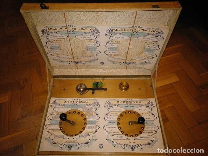Juegos educativos: JUEGO ELECTRICO STUDIO QUESTIONNAIRE ELECTRIQUE FABRICACION FRANCESA PRINCIPIOS PASADO SIGLO JUGUETE - Foto 43 - 155936514