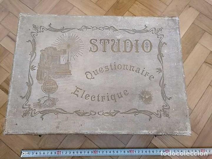 Juegos educativos: JUEGO ELECTRICO STUDIO QUESTIONNAIRE ELECTRIQUE FABRICACION FRANCESA PRINCIPIOS PASADO SIGLO JUGUETE - Foto 56 - 155936514