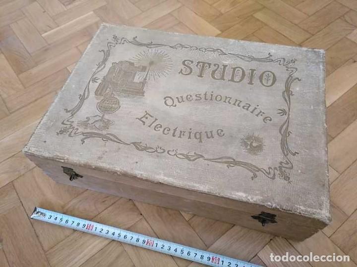 Juegos educativos: JUEGO ELECTRICO STUDIO QUESTIONNAIRE ELECTRIQUE FABRICACION FRANCESA PRINCIPIOS PASADO SIGLO JUGUETE - Foto 61 - 155936514