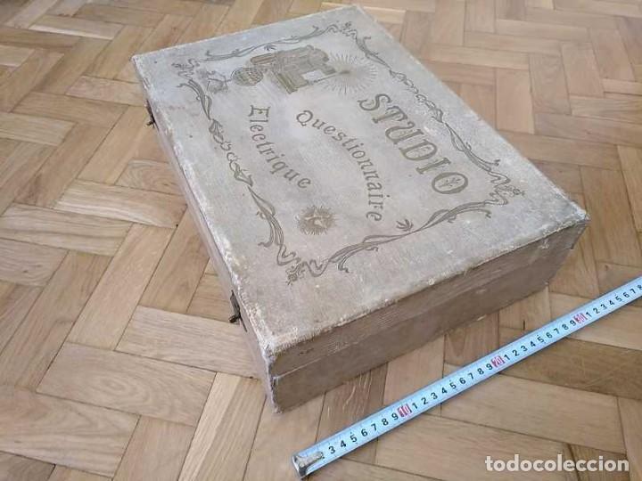 Juegos educativos: JUEGO ELECTRICO STUDIO QUESTIONNAIRE ELECTRIQUE FABRICACION FRANCESA PRINCIPIOS PASADO SIGLO JUGUETE - Foto 63 - 155936514