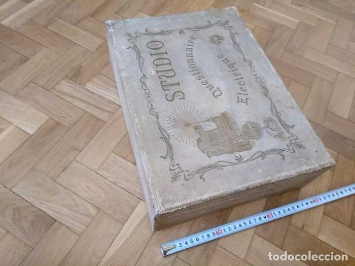 Juegos educativos: JUEGO ELECTRICO STUDIO QUESTIONNAIRE ELECTRIQUE FABRICACION FRANCESA PRINCIPIOS PASADO SIGLO JUGUETE - Foto 66 - 155936514