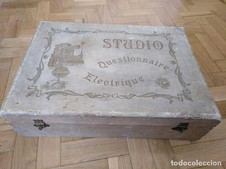 Juegos educativos: JUEGO ELECTRICO STUDIO QUESTIONNAIRE ELECTRIQUE FABRICACION FRANCESA PRINCIPIOS PASADO SIGLO JUGUETE - Foto 68 - 155936514