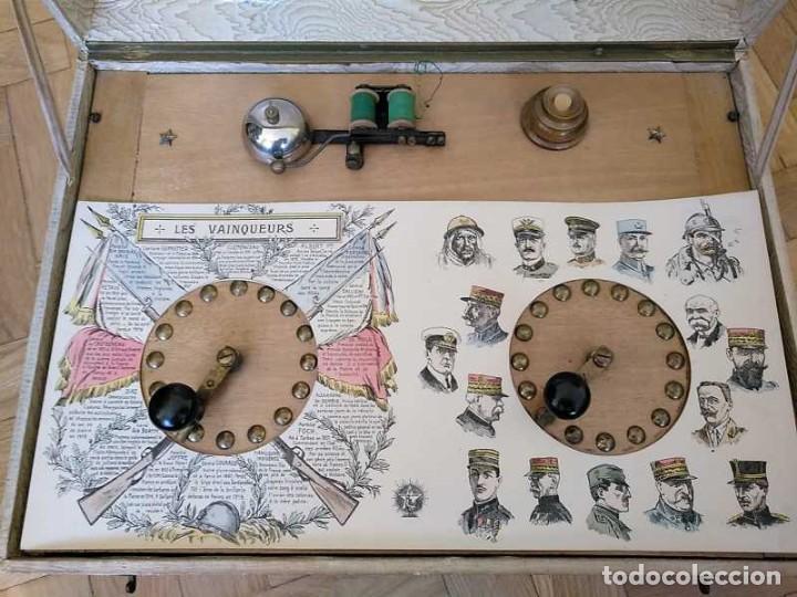 Juegos educativos: JUEGO ELECTRICO STUDIO QUESTIONNAIRE ELECTRIQUE FABRICACION FRANCESA PRINCIPIOS PASADO SIGLO JUGUETE - Foto 100 - 155936514