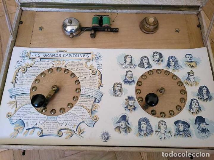 Juegos educativos: JUEGO ELECTRICO STUDIO QUESTIONNAIRE ELECTRIQUE FABRICACION FRANCESA PRINCIPIOS PASADO SIGLO JUGUETE - Foto 101 - 155936514