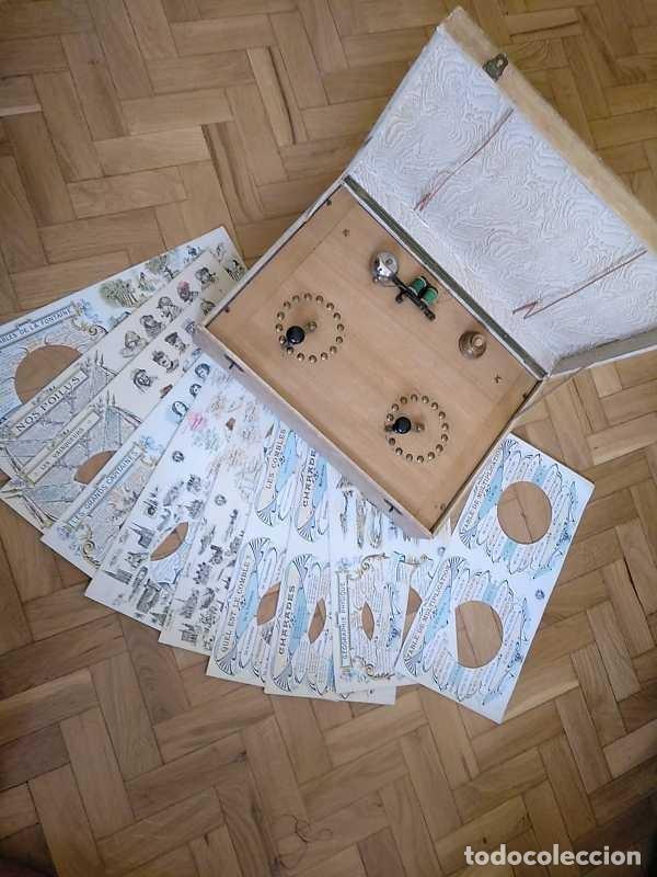 Juegos educativos: JUEGO ELECTRICO STUDIO QUESTIONNAIRE ELECTRIQUE FABRICACION FRANCESA PRINCIPIOS PASADO SIGLO JUGUETE - Foto 114 - 155936514