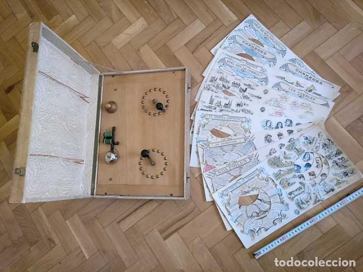 Juegos educativos: JUEGO ELECTRICO STUDIO QUESTIONNAIRE ELECTRIQUE FABRICACION FRANCESA PRINCIPIOS PASADO SIGLO JUGUETE - Foto 135 - 155936514