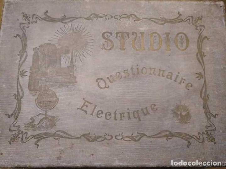 Juegos educativos: JUEGO ELECTRICO STUDIO QUESTIONNAIRE ELECTRIQUE FABRICACION FRANCESA PRINCIPIOS PASADO SIGLO JUGUETE - Foto 162 - 155936514