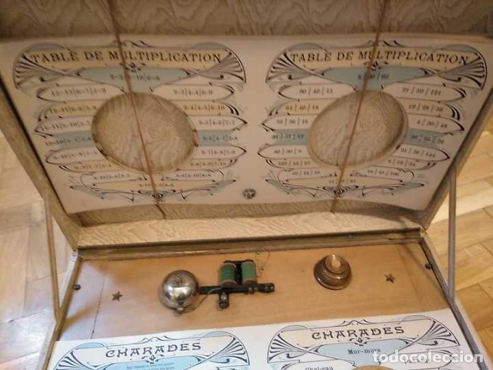 Juegos educativos: JUEGO ELECTRICO STUDIO QUESTIONNAIRE ELECTRIQUE FABRICACION FRANCESA PRINCIPIOS PASADO SIGLO JUGUETE - Foto 175 - 155936514