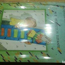 Juegos educativos: JUGUETES MECÁNICOS - SALTAVELLA - 2 FEDERICO EL ELEFANTE - ESCUELA - MANUALIDADES. Lote 155972406