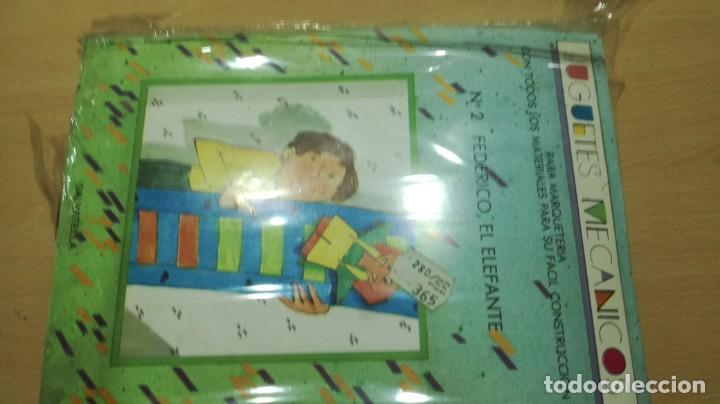 Juegos educativos: JUGUETES MECÁNICOS - SALTAVELLA - 2 FEDERICO EL ELEFANTE - ESCUELA - MANUALIDADES - Foto 2 - 155972406