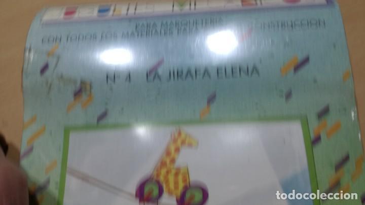 Juegos educativos: JUGUETES MECÁNICOS - SALTAVELLA - 4 LA JIRAFA ELENA - ESCUELA - MANUALIDADES - Foto 2 - 155973714