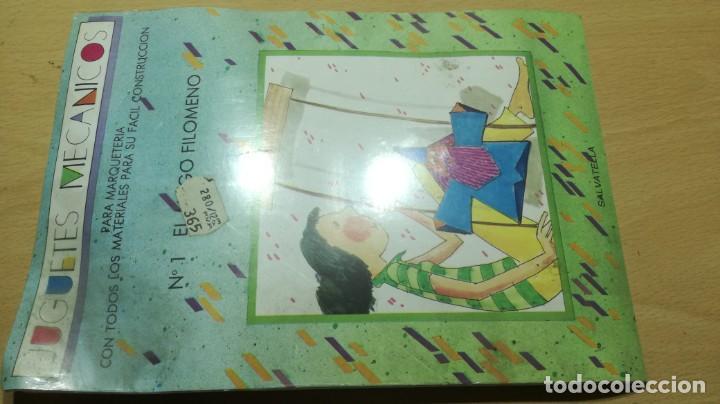 JUGUETES MECÁNICOS - SALTAVELLA - 1 EL MAGO FILOMENO - ESCUELA - MANUALIDADES (Juguetes - Juegos - Educativos)