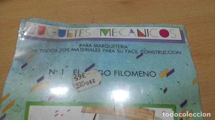 Juegos educativos: JUGUETES MECÁNICOS - SALTAVELLA - 1 EL MAGO FILOMENO - ESCUELA - MANUALIDADES - Foto 2 - 155974018